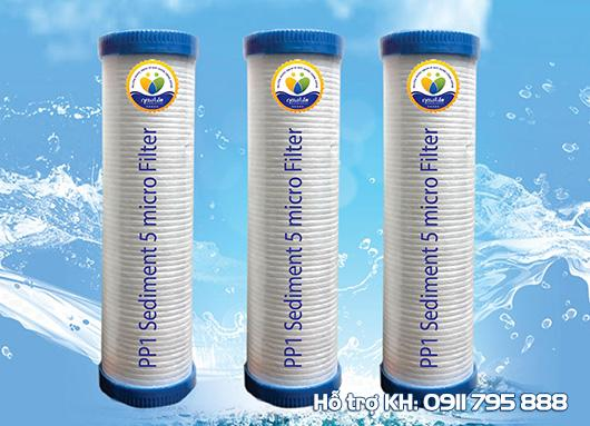 Lõi PP1 Sediment 5 micro Filter