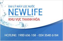 Đại lý máy lọc nước Newlife - khu vực Thanh Hóa