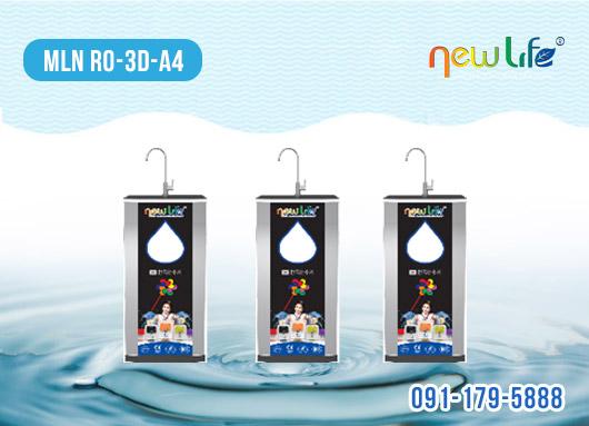 Máy lọc nước RO - 3D - A4, 8 cấp